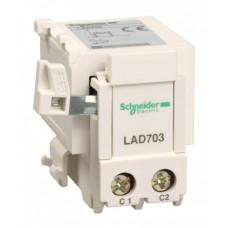УСТРОЙСТВО УДАЛЕНОГО ОТКЛЮЧЕНИЯ AC,DC 220/230V | LAD703M | Schneider Electric