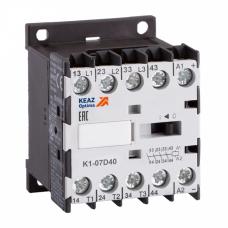 Контактор OptiStart K1-07D40=24DC-VS | 117386 | КЭАЗ