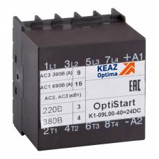 Контактор OptiStart K1-09L00-40=24DC | 117367 | КЭАЗ