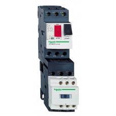 КОМБИНИРОВАНЫЙ ПУСКАТЕЛЬ.0,16-0,25А. ЦЕПЬ УПРАВЛЕНИЯ 220B.50/60ГЦ | GV2DM102M7 | Schneider Electric